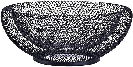 G.E.T Black Iron Teflon Coated Enterprises 4-361632 15.75 x 6 Oval Basket 2 Clipper Mill