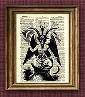 satanic wall art