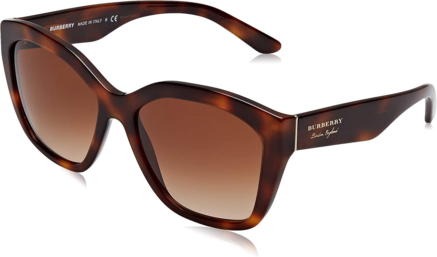 BURBERRY Sonnenbrille (BE4261) Marron (Light Havana/Browngradient)