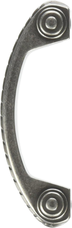 Amerock BP53470-WN Allison Scroll Max 87% OFF Hardw Weathered Ranking TOP2 Nickel Cabinet