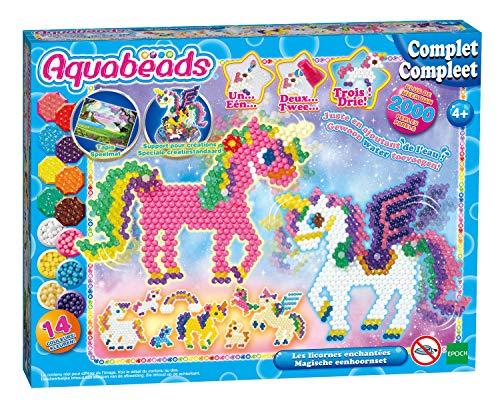 Aqua Beads 31898 Aquabeads Set Enchanted Einhorn, mehrfarbig