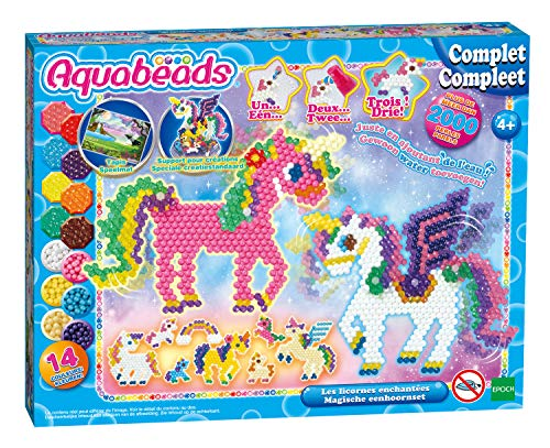 Aqua Beads 31898 Aquabeads Set Enchanted Einhorn, mehrfarbig