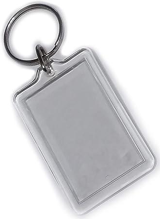 Webafi 6 Stück Acryl Foto Schlüsselanhänger Für Auto Werbung Hotel Stückpreis 0 73 Koffer Rucksäcke Taschen