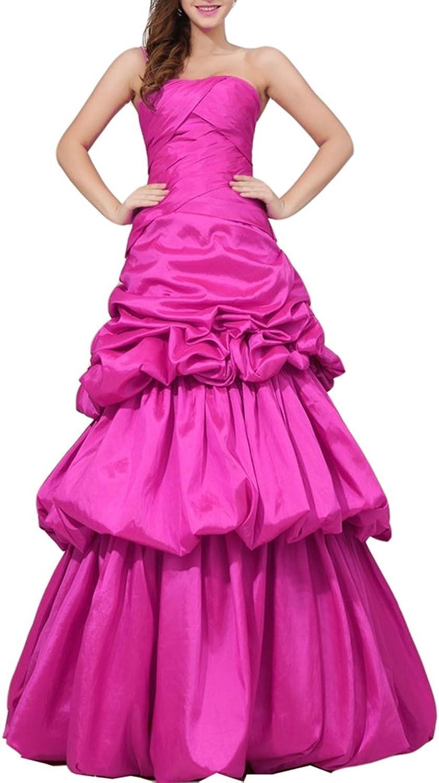Emmani Women's Spaghetti Strap Tiered Aline Evening Dresses Quinceanera Dresses