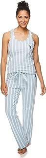 Womens Racerback Tank Top and Lounge Pajama Pants...