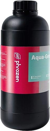 PHROZEN 3D Printer Rapid Aqua Green Resin, 405nm LCD UV-Curing Photopolymer Resin for Low Shrinkage, High Precision P...