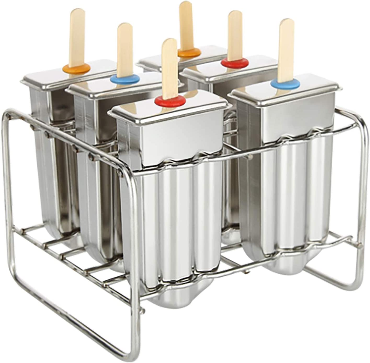 Ice Cream Stick Mold Stainless Max 78% At the price OFF Popsicle Molds Steel L Lolly