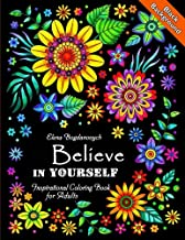Believe in Yourself Inspirational Coloring Book for Adults