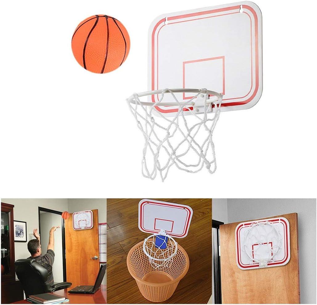Evangelia.YM Indoor Folding Basketball Max 83% OFF Frame Great interest Entertai Board Home