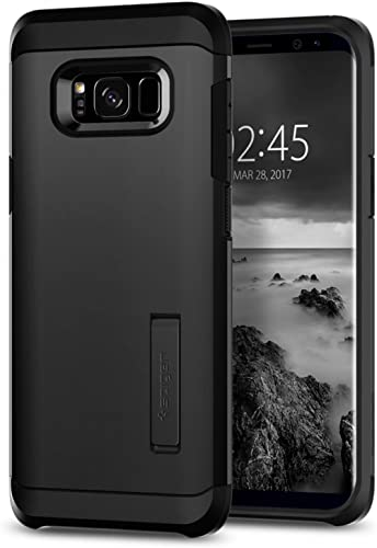 Spigen Tough Armor Designed for Samsung Galaxy S8 Case (2017) - Black