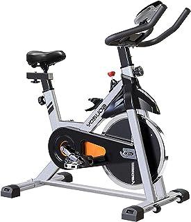 دوچرخه دوچرخه سواری داخلی YOSUDA ثابت - دوچرخه چرخه با کوه Ipad و کوسن راحت صندلی