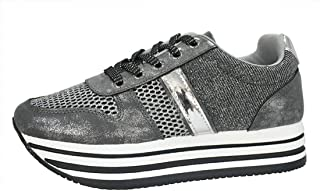ROXY-ROSE Women Platform Chunky Tennis Sneakers | Breathable Mesh Casual Walking Shoes