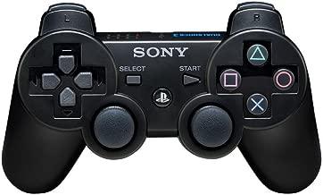 Playstation 3 Dualshock 3 Wireless Controller (Black) (Certified Refurbished)