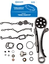 ECCPP TK3005 Fits Nissan PICKUP 240SX 2.4L SOHC KA24E 1989-1997 Timing Chain Kit With Gaskets and Oil Seal