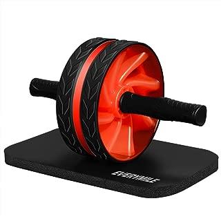 腹筋ローラー マット付き アブホイール EVERYMILE エクササイズローラー 超静音 アブローラー 取り付け簡単 腹筋トレ 自宅用
