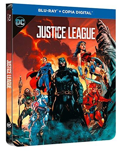 Liga De La Justicia Blu-Ray Dc Illustrated Steelbook [Blu-ray]