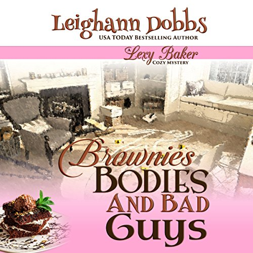 Brownies, Bodies, & Bad Guys audiobook cover art