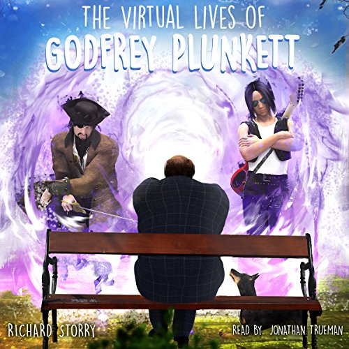 The Virtual Lives of Godfrey Plunkett audiobook cover art