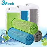 LEBEXY Kühlendes Handtuch | Kühlhandtuch | Sporthandtuch Ultraleicht Kühltuch | Schnelltrocknend Reisehandtuch Cooling Towel | Fitness Handtuch für Laufen, Reise & Yoga