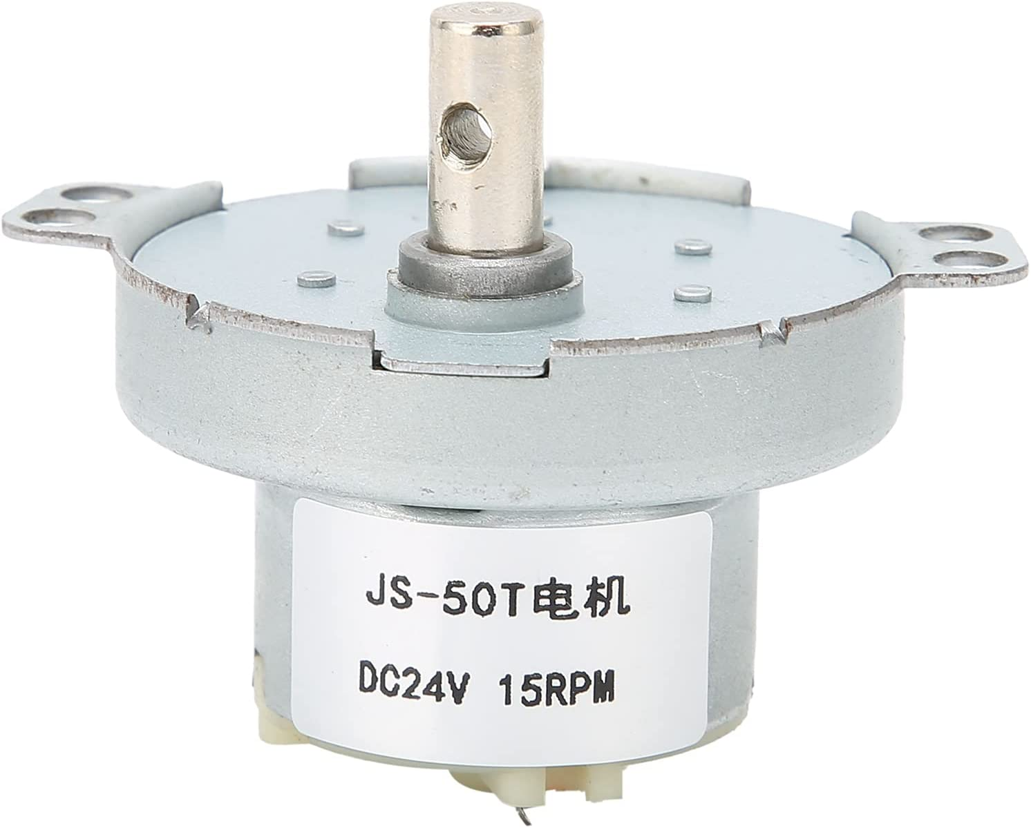 DC24V 15RPM Gear Motor High Turbin 67% OFF of fixed price Reduction Gifts Speed Torque