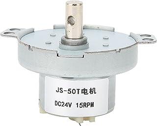 JS-50T DC växel elmotor, högt vridmoment låg effektförbrukning God driftseffekt Låg ljudnivå Elektriska maskiner 15 varv/m...