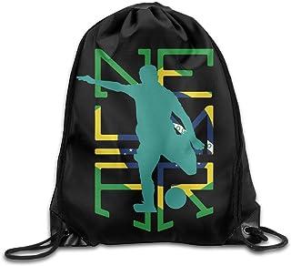 5ef623365 jiebokeji Neymar Brazil Soccer Sport Backpack Drawstring Print Bag -