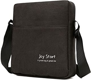 Fulision Men Shoulder Bag Lightweight Waterproof Messenger Bag Outdoor Backpack