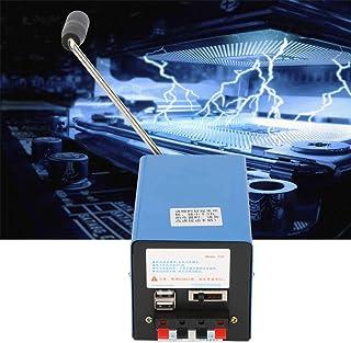Generador manual, generador USB, generador portátil de alta potencia en miniatura para comunicación de emergencia, falta de energía a largo plazo, operaciones de campo, etc.