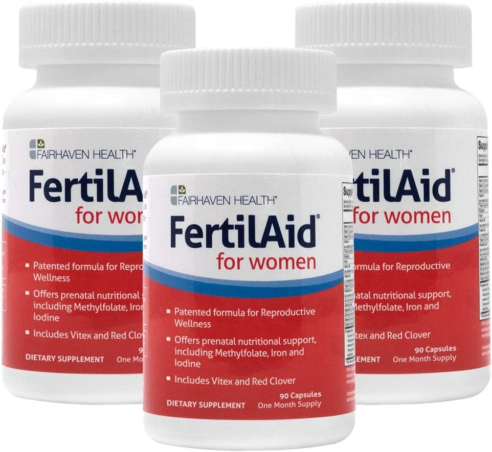 FertilAid for Women Dedication Fertility Supplement Natural Fe Max 49% OFF