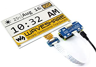 7.5inch E-Paper Display HAT Module 640x384 Tri-color Electronic E-ink Paper Screen Three-Color Yellow/Black/White Work with Raspberry Pi/Arduino/STM32 SPI Interface Clear Display