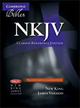 NKJV Clarion Reference Bible, Black Edge-lined Goatskin Leather, NK486:XE