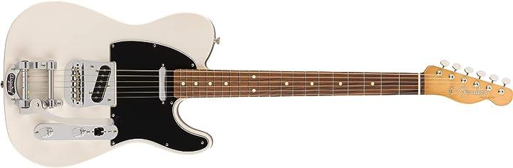 Chitarra elettrica con bigsby tremolo - biondo bianco fender vintera 60`s telecaster 149883301