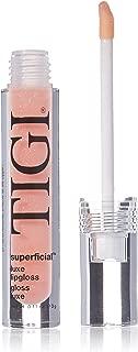 TIGI Luxe Lip Gloss Superficial, 0.11 Ounce