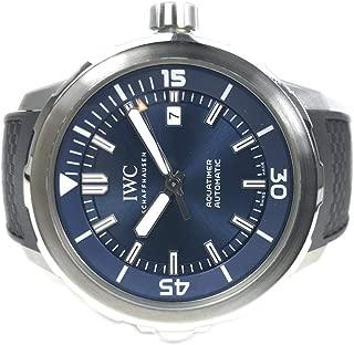 IWC Aquatimer Automatic Blue Dial Mens Watch IW329005