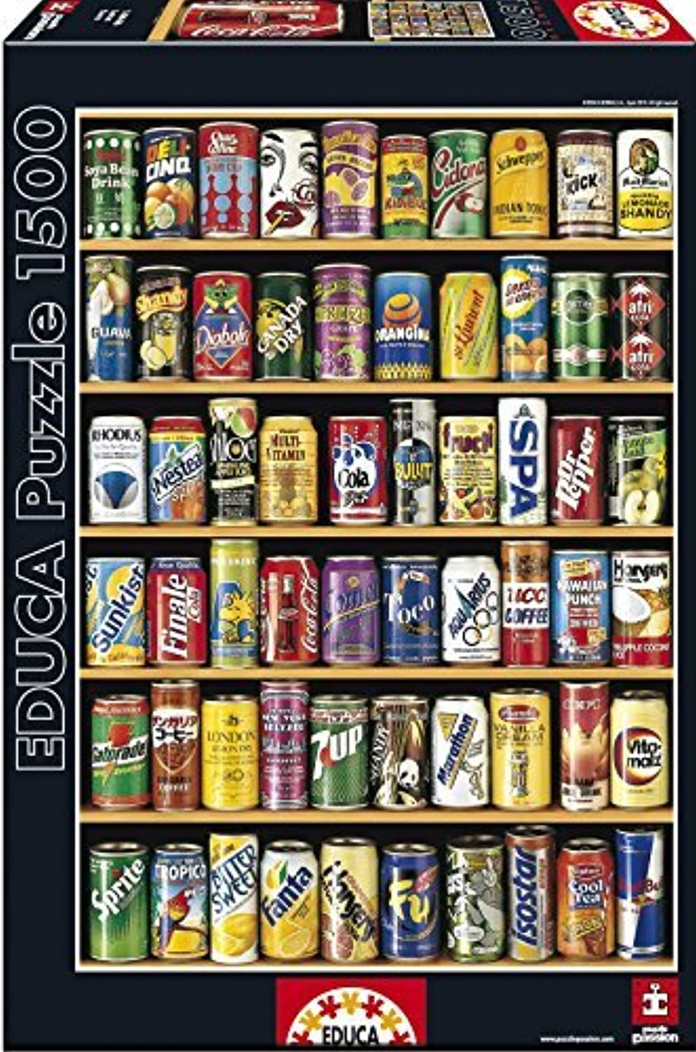 Educa Cans Puzzle (1500 Piece) by Educa
