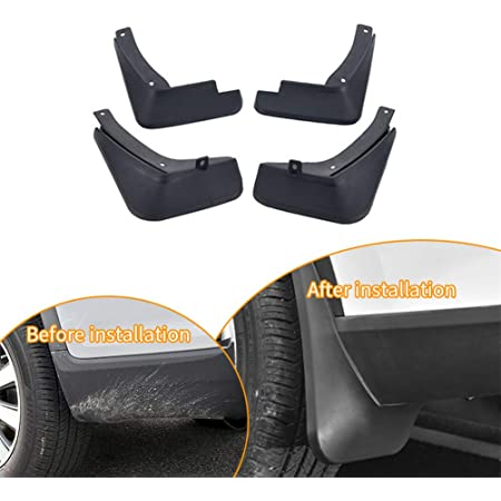 Maite For Ford Ecosport 2018 Car Front and Rear Mud Flaps Splash Guards Fender Mudguard 4Pcs