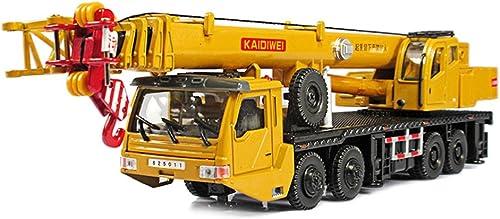 Kran Legierungstechnik Fahrzeugmodell 1 55 Schwerer Kran Big Crane Car Spielzeugauto