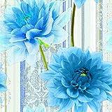 Estilker COMPO-N3 Decorado de Cerámica con Impresión Digital, Azul, Set de 2 Piezas