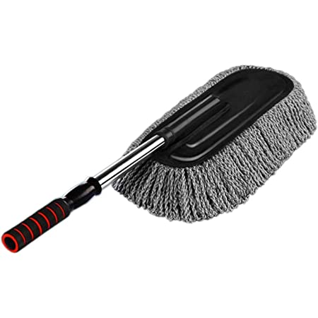 Car SUV Wash Duster Wax Dusting Cleaning Brushes Tools Wiping Mop Cleaning Brush