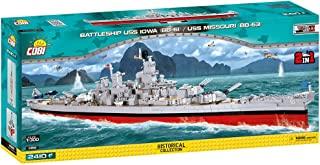 COBI Historical Collection Battleship USS Iowa (BB-61)/USS Missouri (BB-63)