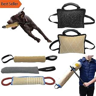 PPH3 Shine Dog Training Bite Tugs - Pet Bite Pillow - Jute Dog Bite Sleeve | Training Police Young Dog German Shepherd