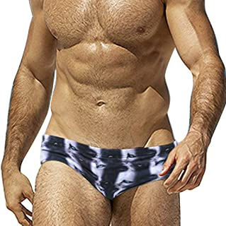OrchidAmor Fashion Men Breathable Trunks Pants Beach Print Running Swimming Underwear