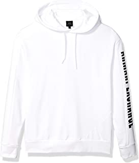 A|X Armani Exchange Men's Color Block Pullover Hoodie