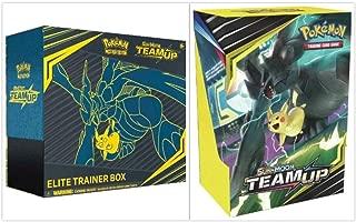 Pokémon TCG Sun & Moon Team Up Elite Trainer Box + Build and Battle Box Prerelease Kit Pokémon Trading Card Game Bundle, 1 of Each