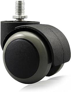 copapa suelo protección de goma silla de oficina Caster ruedas (Juego de 5) m1012mm tornillo vástago 2pulgadas