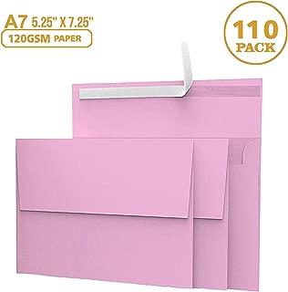 Best 5x7 envelopes pink Reviews