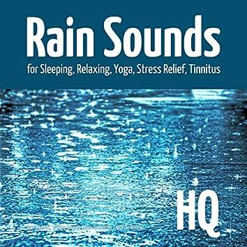 Rain Sounds for Sleeping, Relaxing, Yoga, Stress Relief, Tinnitus