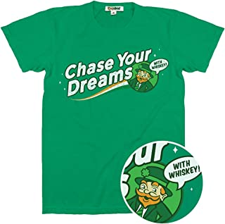 Men's Hilarious St. Patrick's Day T Shirts - Green Funny St. Paddy's Tshirts for Guys