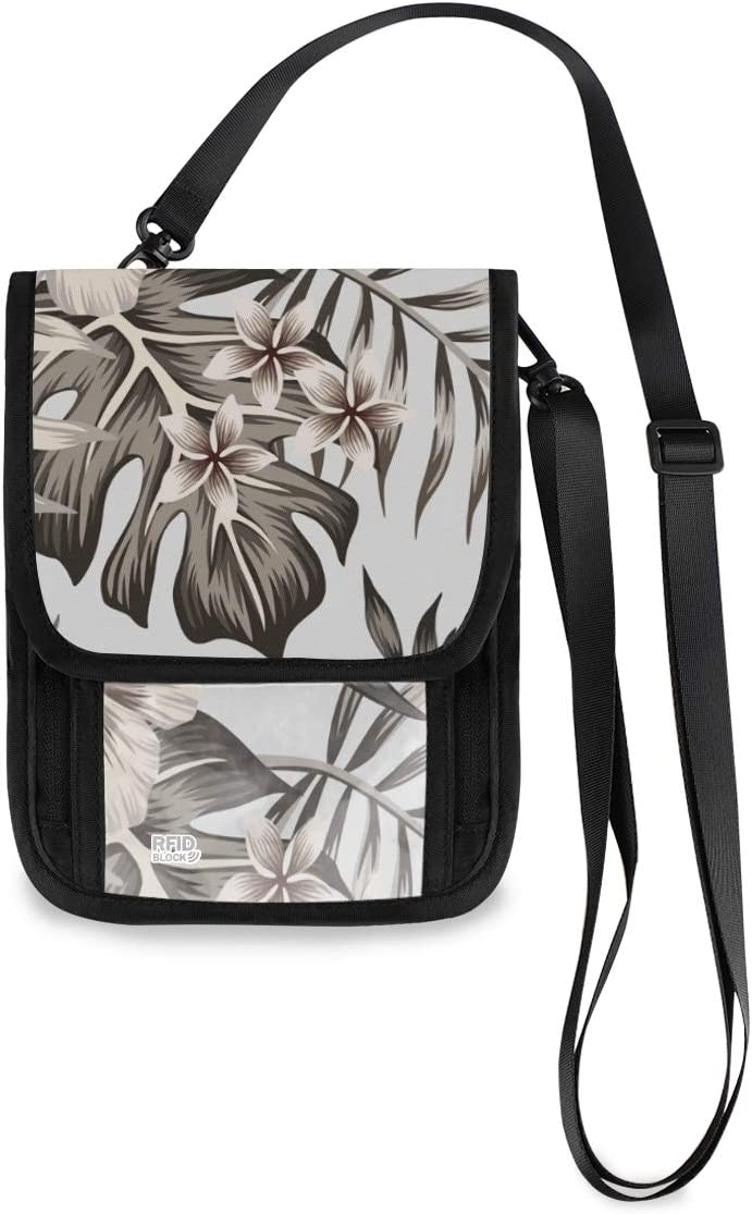 VALLER Palm Leaves Of Sale item Hibiscus Flowers Strap Detachable Multifun Shipping included