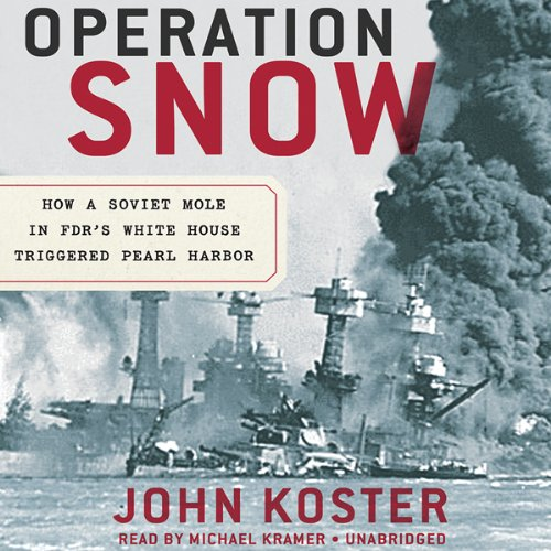 Operation Snow audiobook cover art